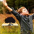 Mustard Seed Ranch Logo and Boy