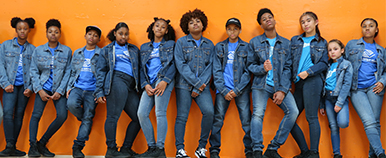 Boys and Girls Club Dance Group