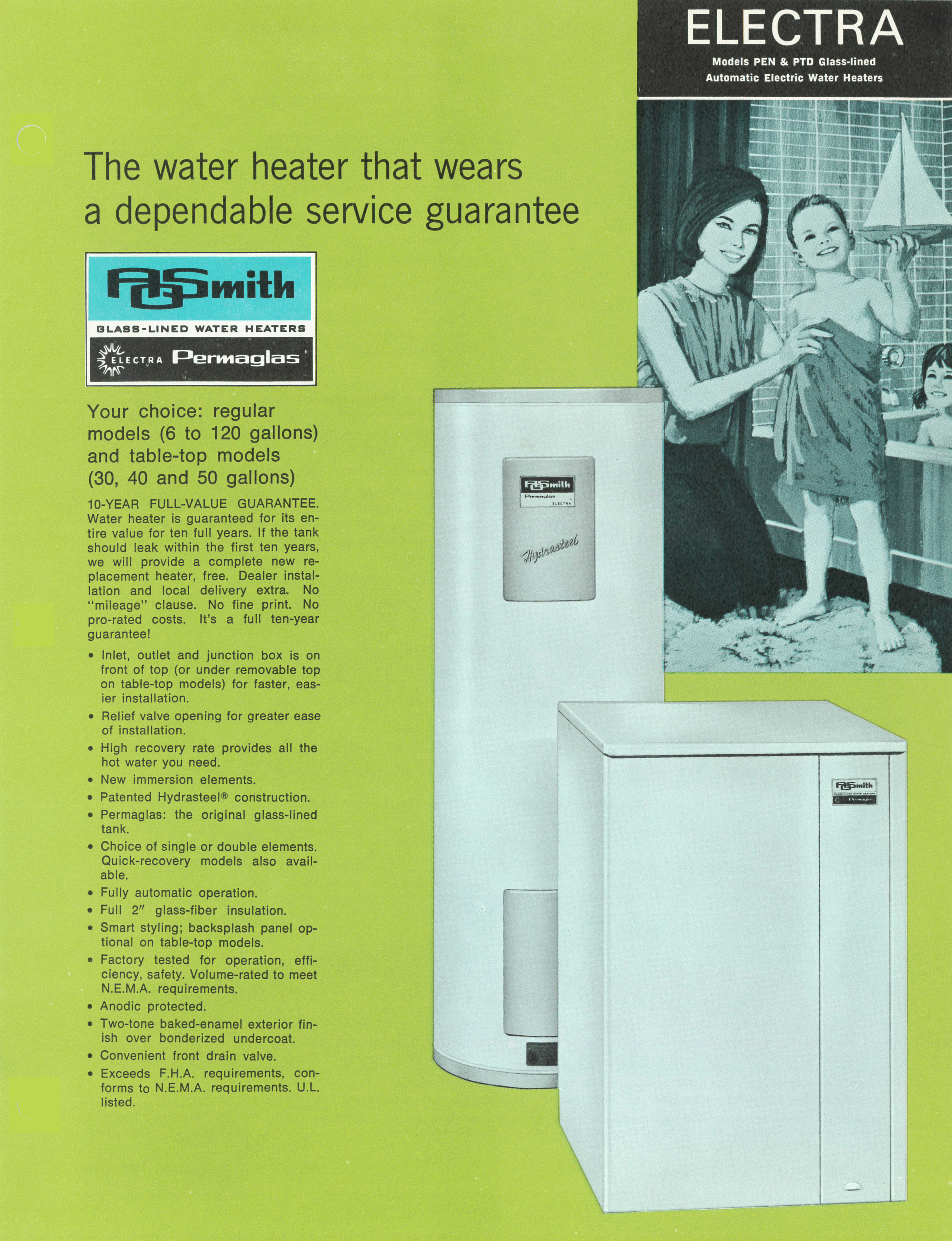 Ao Smith Electric Water Heater Works Interframe Media Hse Sas 15 To A O Electra Series Literature Photo