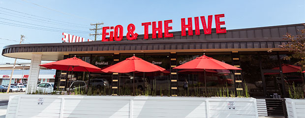 EiO and The Hive Restaurant
